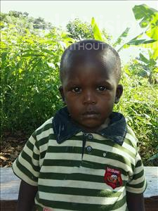 Joel, aged 3, from Uganda, is hoping for a World Vision sponsor