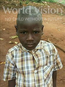 Choose a child to sponsor, like this little boy from Ntwetwe, Christopher age 5