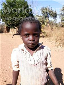 Choose a child to sponsor, like this little girl from Keembe, Tiyoneji age 5