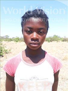 Choose a child to sponsor, like this little girl from Keembe, Astridah age 13