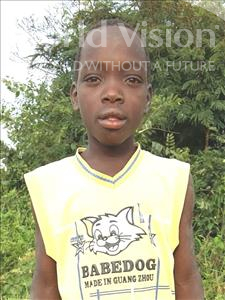 Choose a child to sponsor, like this little boy from Keembe, Charles age 13