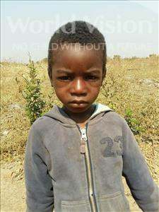 Choose a child to sponsor, like this little boy from Keembe, Clement age 4