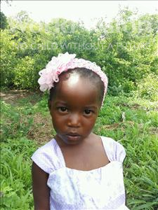 Choose a child to sponsor, like this little girl from Keembe, Christina age 4
