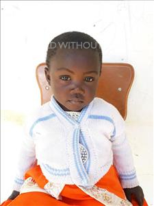 Choose a child to sponsor, like this little girl from Keembe, Mable age 1