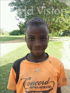 Athur, aged 9, from Zambia, is hoping for a World Vision sponsor