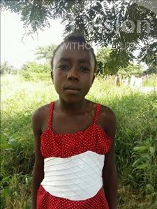 Choose a child to sponsor, like this little girl from Keembe, Trezer age 11