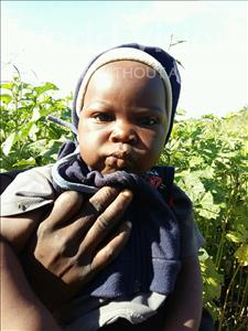 Choose a child to sponsor, like this little boy from Keembe, Gift age 1
