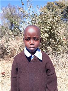 Choose a child to sponsor, like this little boy from Keembe, Saviour age 6