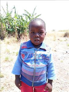 Choose a child to sponsor, like this little boy from Keembe, Joshua age 2