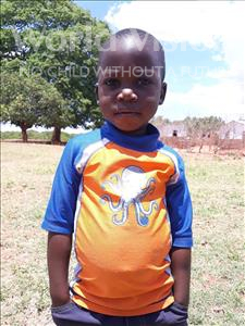 Choose a child to sponsor, like this little boy from Keembe, Nelson age 3