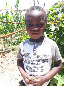 Choose a child to sponsor, like this little boy from Keembe, Piston age 3