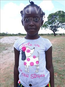 Choose a child to sponsor, like this little girl from Keembe, Mirriam age 7
