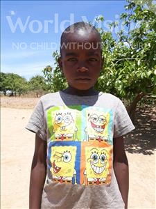Choose a child to sponsor, like this little boy from Keembe, James age 7