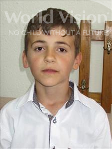 Choose a child to sponsor, like this little boy from Shkodra, Mateo age 11