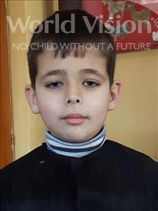 Choose a child to sponsor, like this little boy from Shkodra, Aurel age 10