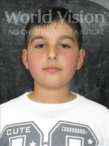 Dionis, aged 11, from Albania, is hoping for a World Vision sponsor