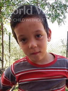 Choose a child to sponsor, like this little boy from Shkodra, Frederik age 7
