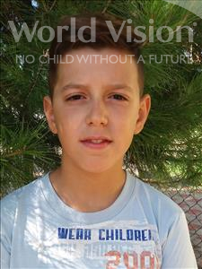 Choose a child to sponsor, like this little boy from Shkodra, Eridon age 12