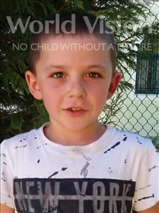 Choose a child to sponsor, like this little boy from Shkodra, Mikel age 9
