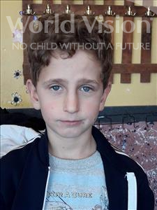 Choose a child to sponsor, like this little boy from Shkodra, Aldo age 9