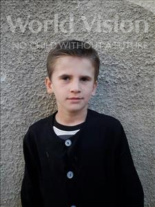 Choose a child to sponsor, like this little boy from Shkodra, Marsel age 10