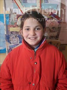 Choose a child to sponsor, like this little girl from Shkodra, Armela age 10