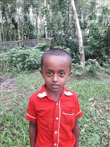 Choose a child to sponsor, like this little boy from Ghoraghat, Abu Sayeed Siyam age 6