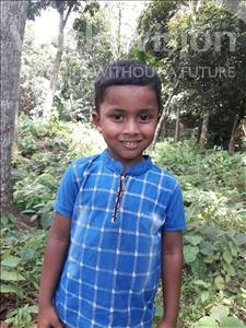 Choose a child to sponsor, like this little boy from Ghoraghat, Hossain age 5