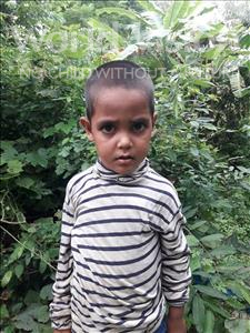 Choose a child to sponsor, like this little boy from Ghoraghat, Riyadul age 4