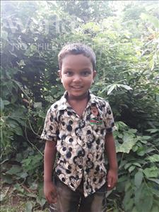 Choose a child to sponsor, like this little boy from Ghoraghat, Rana age 5