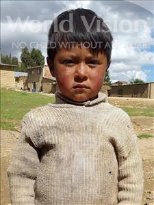 Choose a child to sponsor, like this little boy from Mosoj Punchay, Neymar age 5