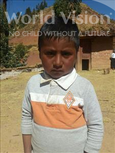 Choose a child to sponsor, like this little boy from Mosoj Punchay, Alvaro age 5