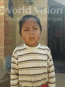 Choose a child to sponsor, like this little boy from Mosoj Punchay, Limberth age 6