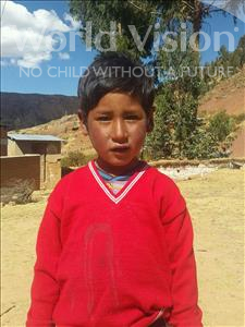 Choose a child to sponsor, like this little boy from Mosoj Punchay, Hilarion age 6
