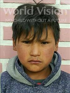 Choose a child to sponsor, like this little boy from Mosoj P'unchay, Cristian age 11
