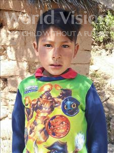 Choose a child to sponsor, like this little boy from Mosoj Punchay, Juvenal age 8