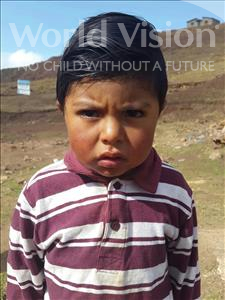 Choose a child to sponsor, like this little boy from Mosoj Punchay, Carlos age 3