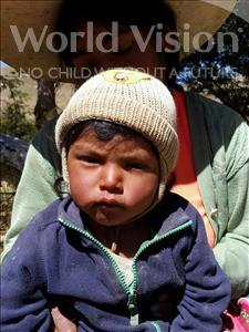 Choose a child to sponsor, like this little boy from Mosoj Punchay, Rodrigo age 1