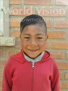 Choose a child to sponsor, like this little boy from Mosoj Punchay, Edgar age 9