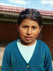 Choose a child to sponsor, like this little girl from Mosoj Punchay, Marina age 9