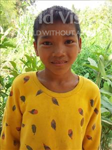 Choose a child to sponsor, like this little boy from Soutr Nikom, Sophean age 12