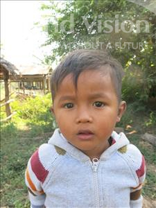 Choose a child to sponsor, like this little boy from Soutr Nikom, Sopheap age 4