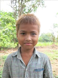 Choose a child to sponsor, like this little boy from Soutr Nikom, Nimrol age 6