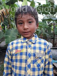 Choose a child to sponsor, like this little boy from Soutr Nikom, Ravy age 7