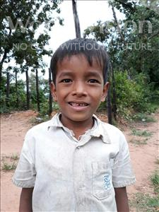 Choose a child to sponsor, like this little boy from Soutr Nikom, Davith age 8