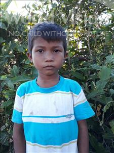 Choose a child to sponsor, like this little boy from Soutr Nikom, Syna age 7