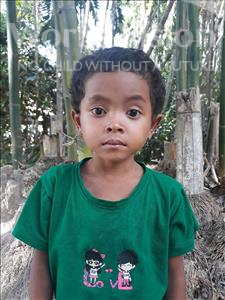 Chivorn, aged 5, from Cambodia, is hoping for a World Vision sponsor