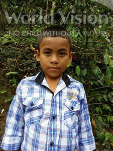 Choose a child to sponsor, like this little boy from Maya, Osway Rubi age 9
