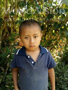 Choose a child to sponsor, like this little boy from Maya, Wilson Eduardo age 6