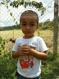 Choose a child to sponsor, like this little boy from Maya, Kevin Enehemias age 3
